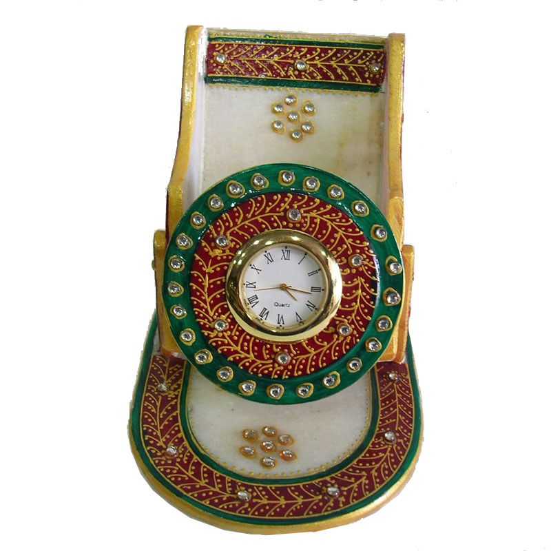 Buy Beautiful Marble Mobile Stand from Rajasthan online