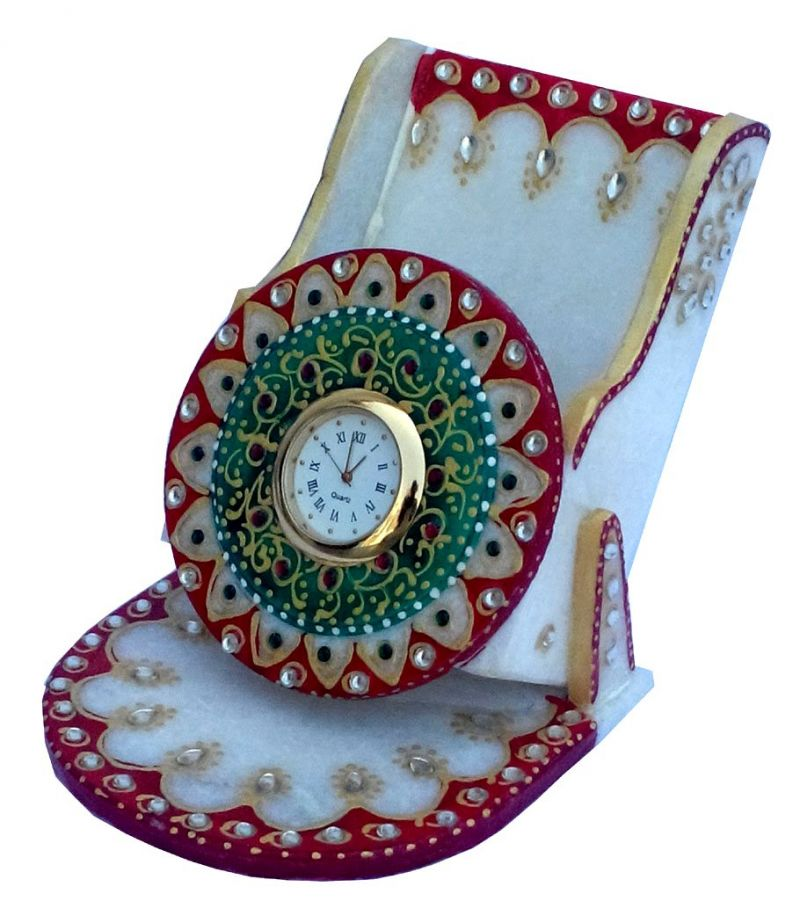 Buy Green Marble Mobile Stand online