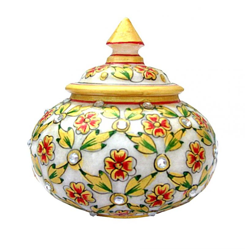 Buy Chitrahandicraft Marble Pot online
