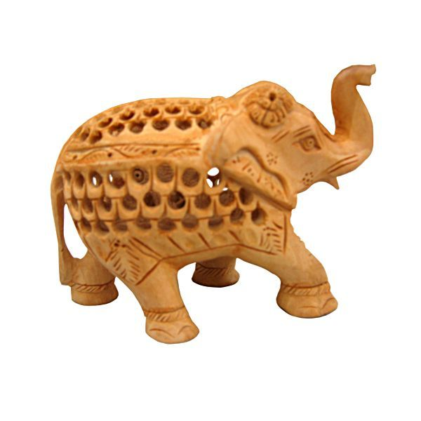 Buy Wooden Elephant from Rajasthan online