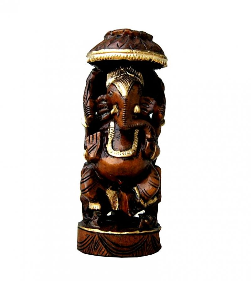 Buy Wooden Ganesha from Rajasthan online