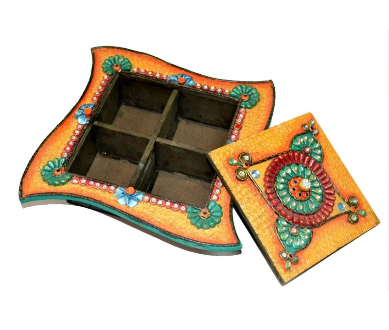 Buy Chitrahandiocraft Dry Fruit Box online