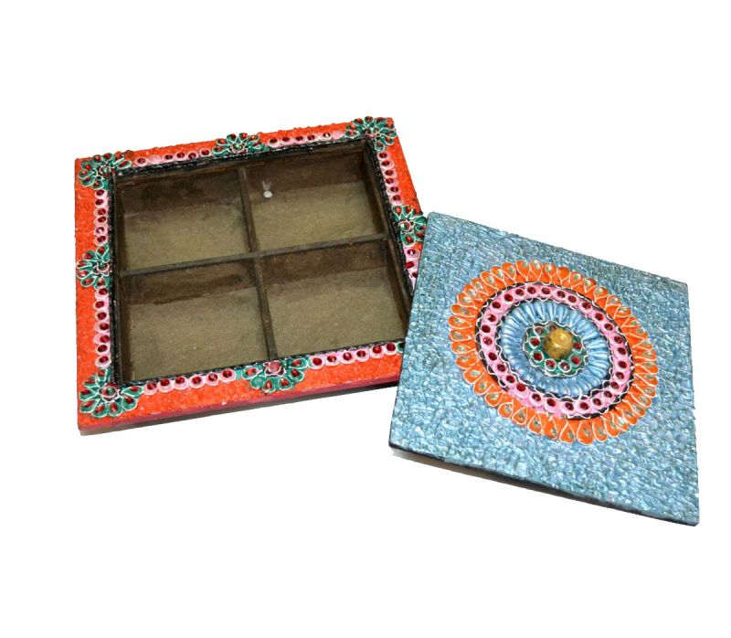 Buy Handicraft Dry Fruit Box 2 from Rajasthan online