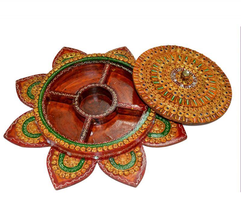 Buy Chitrahandicraft Dry Fruit Box 3 online