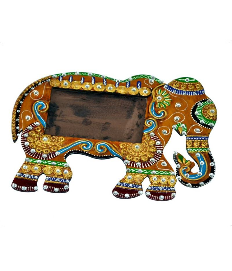 Buy Elephant Wooden Photo Frame from Rajasthan Online | Best Prices ...