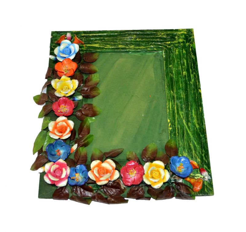 Buy Decorative Clay Photo Frame from Rajasthan Online | Best Prices ...