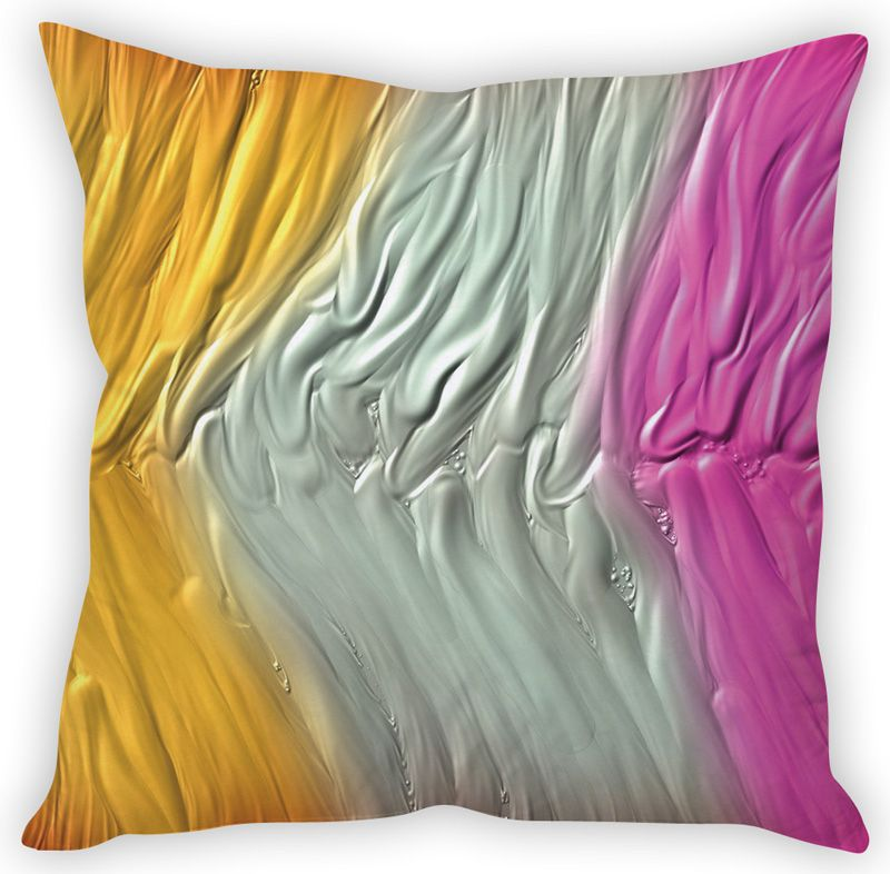 Buy Stybuzz Color Melt Art Cushion Cover online
