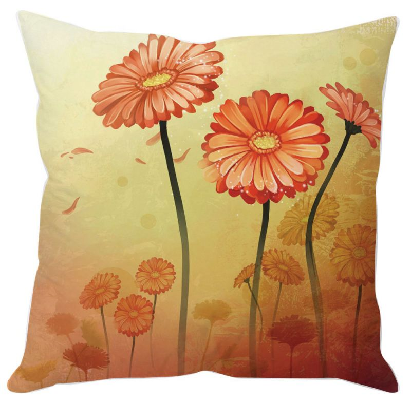 Buy Three Flowers Cushion Cover online