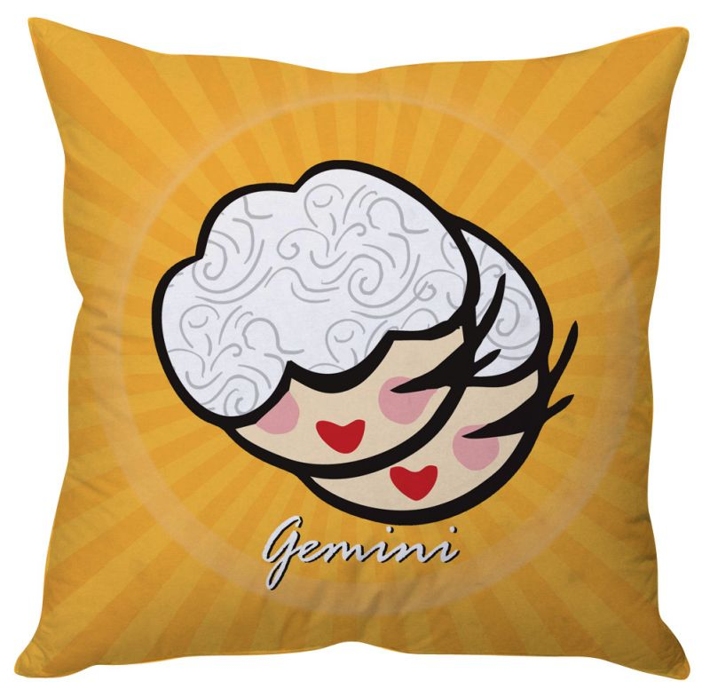 Buy Stybuzz Gemini Zodiac Cushion Cover - Cc01542 online