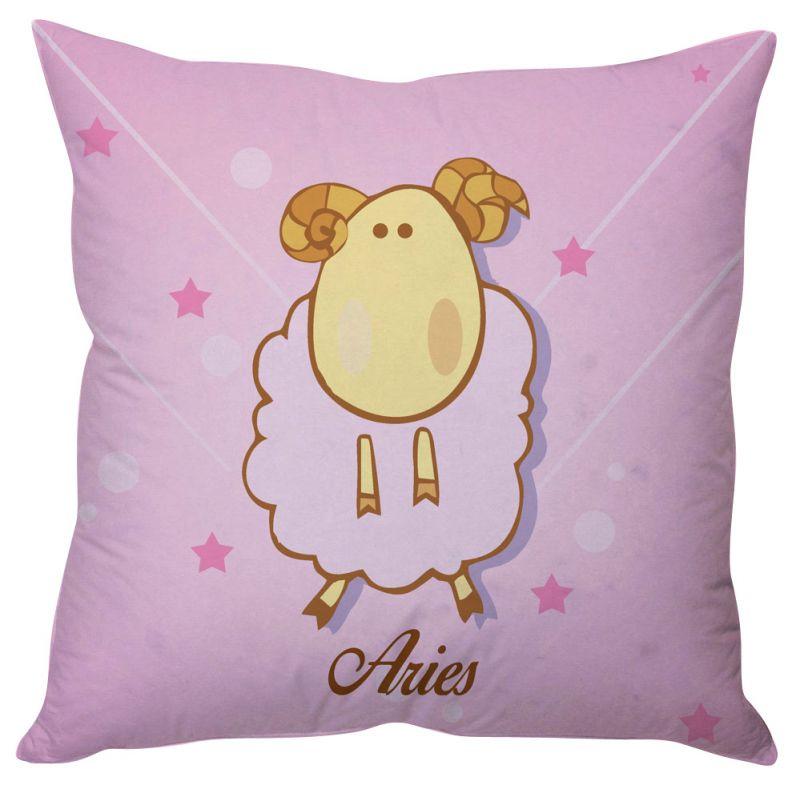 Buy Stybuzz Aries Zodiac Cushion Cover online