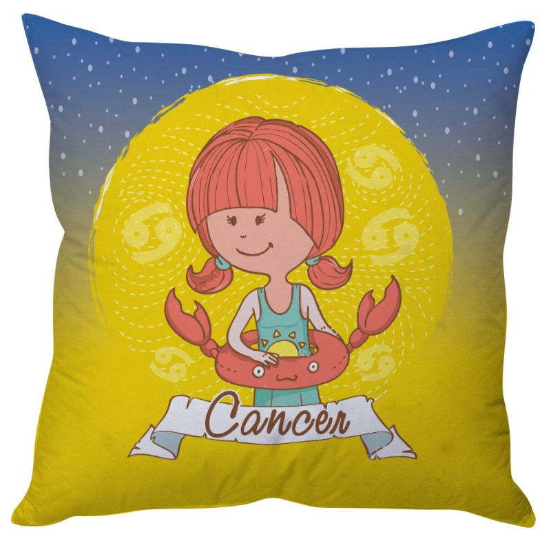 Buy Stybuzz Cancer Zodiac Cushion Cover online