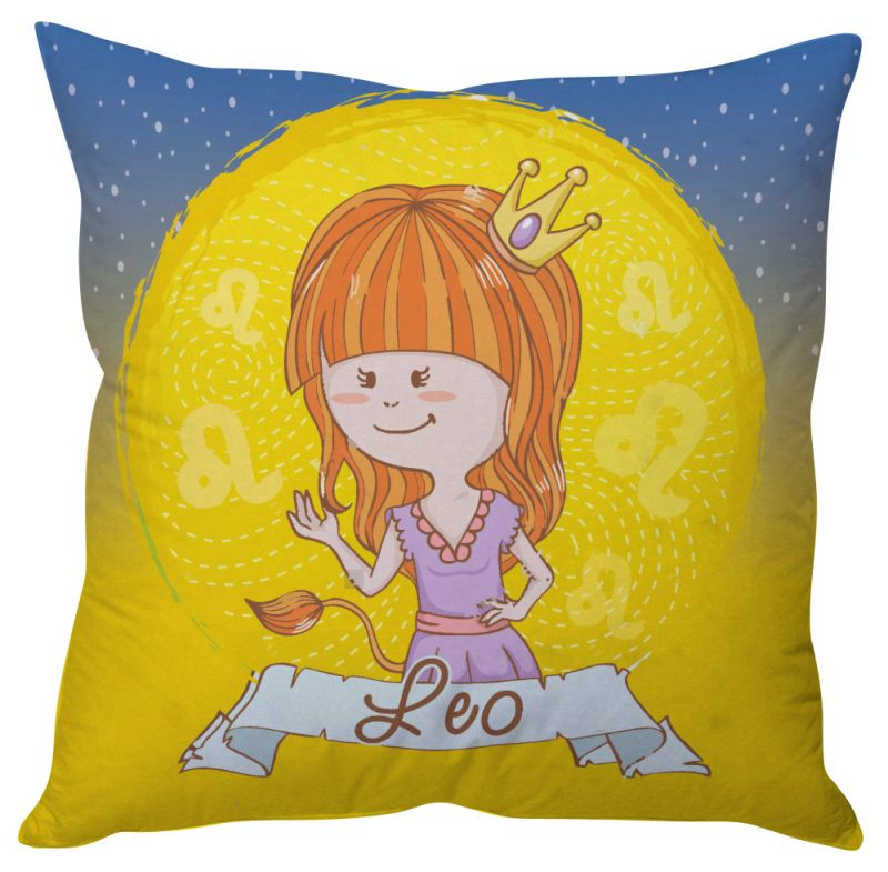 Buy Stybuzz Leo Zodiac Cushion Cover online