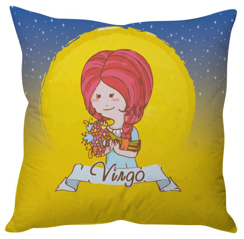 Buy Stybuzz Virgo Zodiac Cushion Cover - Cc01575 online