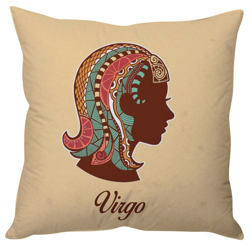 Buy Stybuzz Virgo Zodiac Cushion Cover online