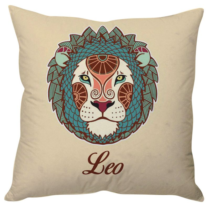 Buy Stybuzz Leo Zodiac Cushion Cover - Cc01580 online