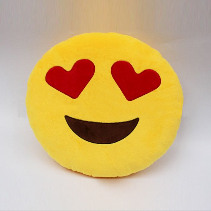 Buy Stybuzz Love Struck Emoji Cushion online