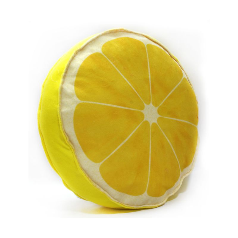 Buy Stybuzz Lemon Fruit Slice Cushion online