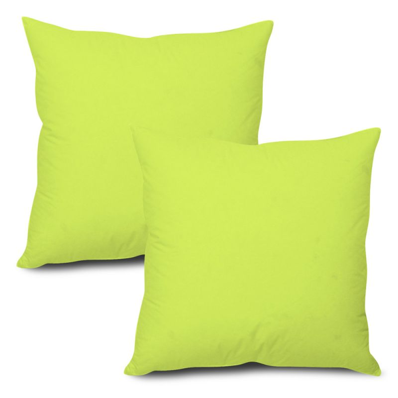 Buy Stybuzz Green Solid Cushion Cover - Set of 2 online