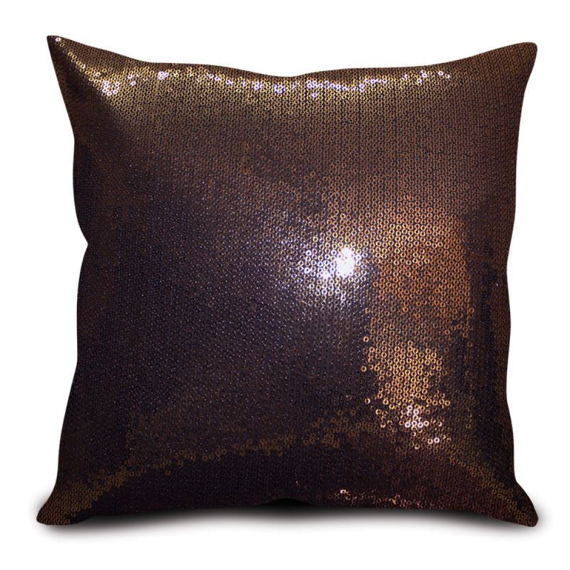 Buy Sephora Copper Sequin Cushion Cover online