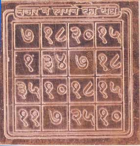 Buy Siddha Nazar Na Lagneka Yantra Double Energised By Benificiary Name online
