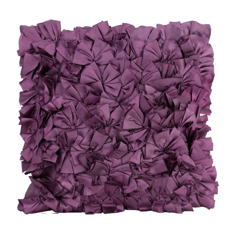 Buy Fabulloso Violet Shrub Cushion Cover online
