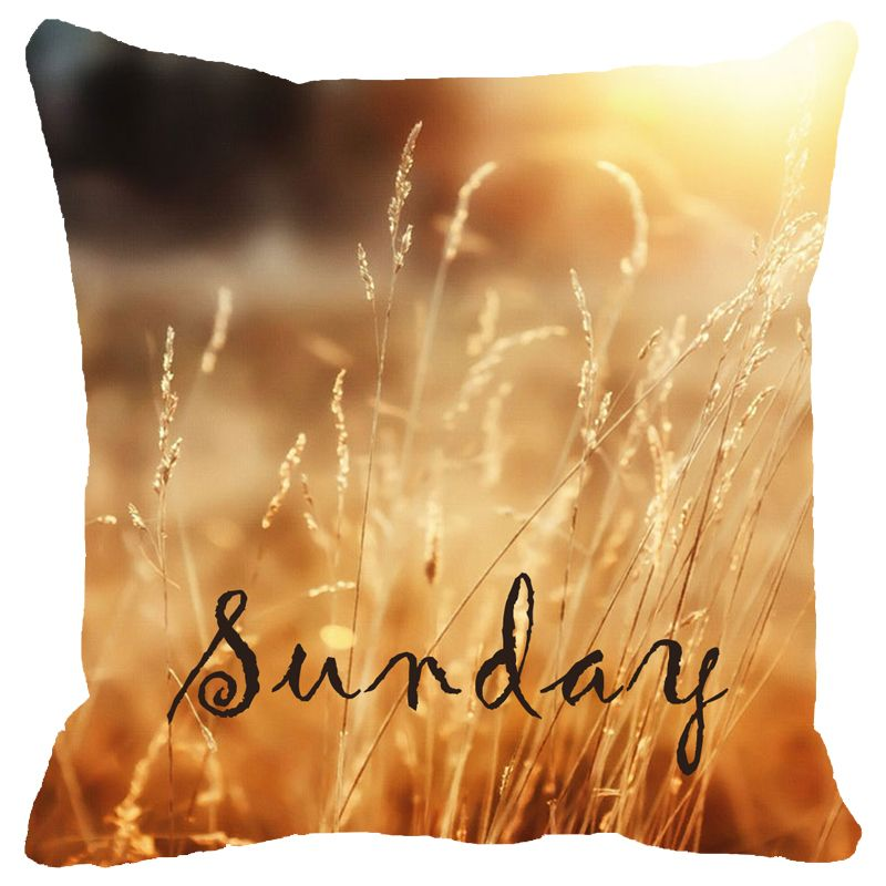 Buy Fabulloso Leaf Designs Sunday Cushion Cover - 12x12 Inches online