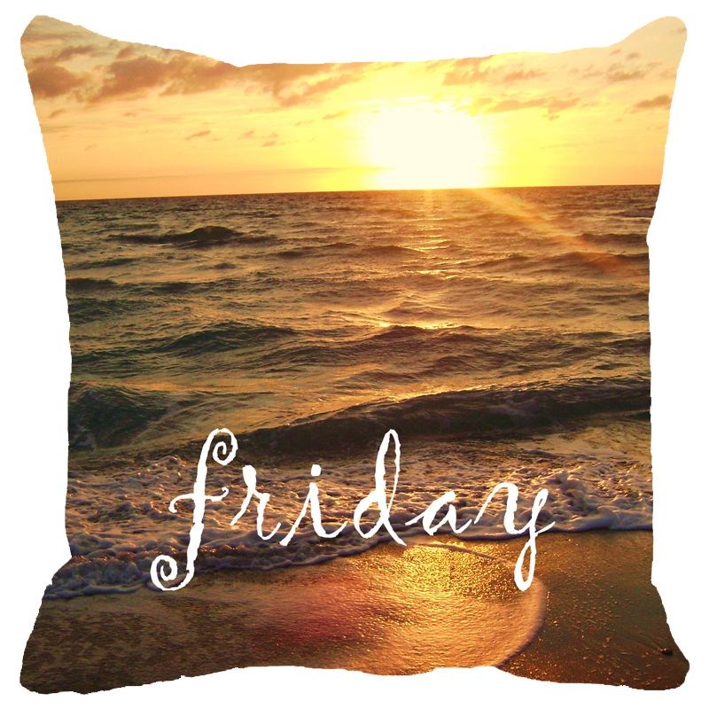 Buy Fabulloso Leaf Designs Friday Cushion Cover - 8x8 Inches online