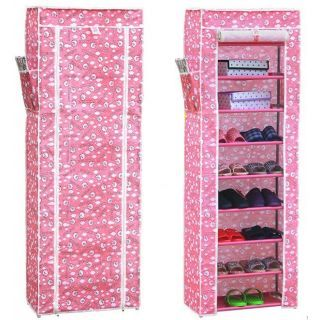 Buy 8 Layer Large Water And Dust Proof Shoe Rack online