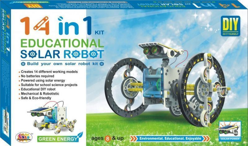 Buy 14in1 educational solar robot diy kit online best prices in buy 14in1 educational solar robot diy kit online solutioingenieria Images