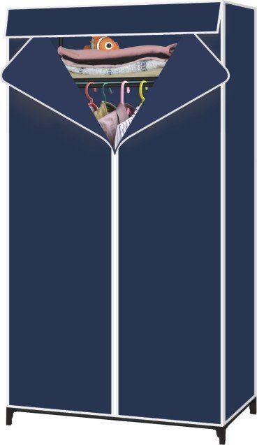 Buy Single Canvas Door Foldable Cupboard Wardrobe online
