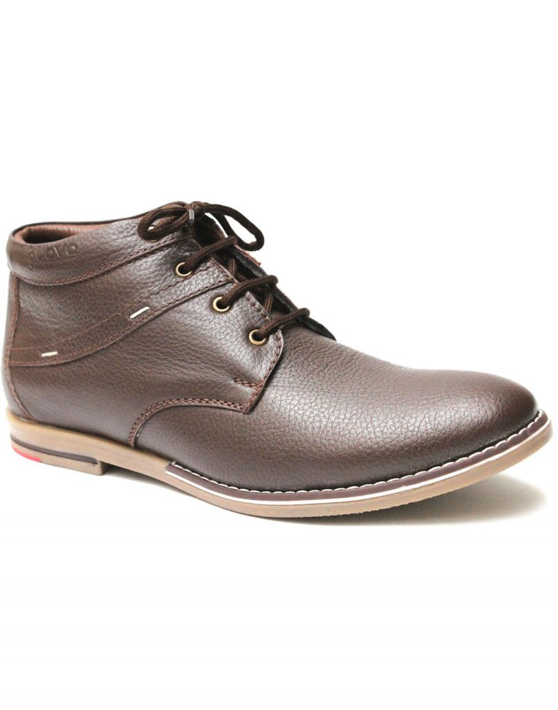 Buy Guava Brown High Ankle Men
