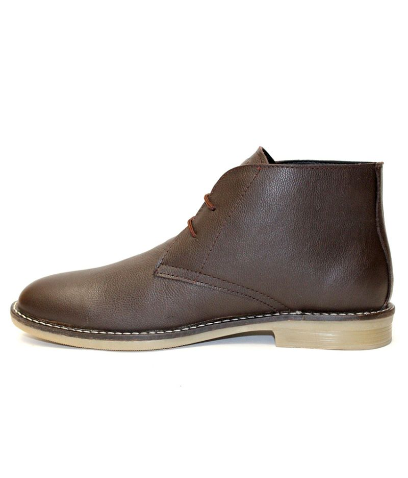 Buy Guava Guava Brown Leather Boots online