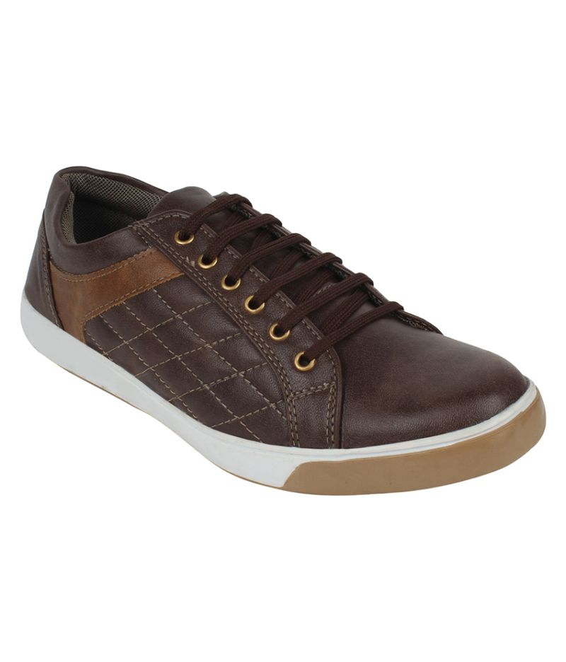 Buy Guava Casual Brown Sneaker Shoes For Men - Product Code (gv15ja214) online