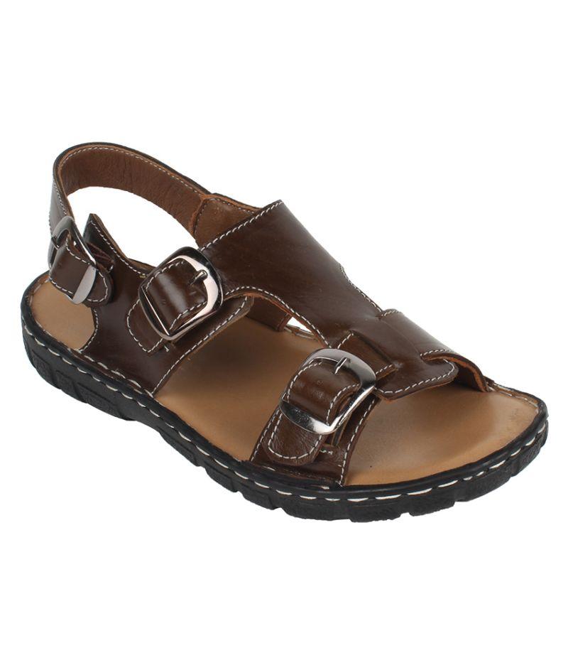 Buy Guava Leather Buckle Sandal For Men - Product Code (gv15ja217) online