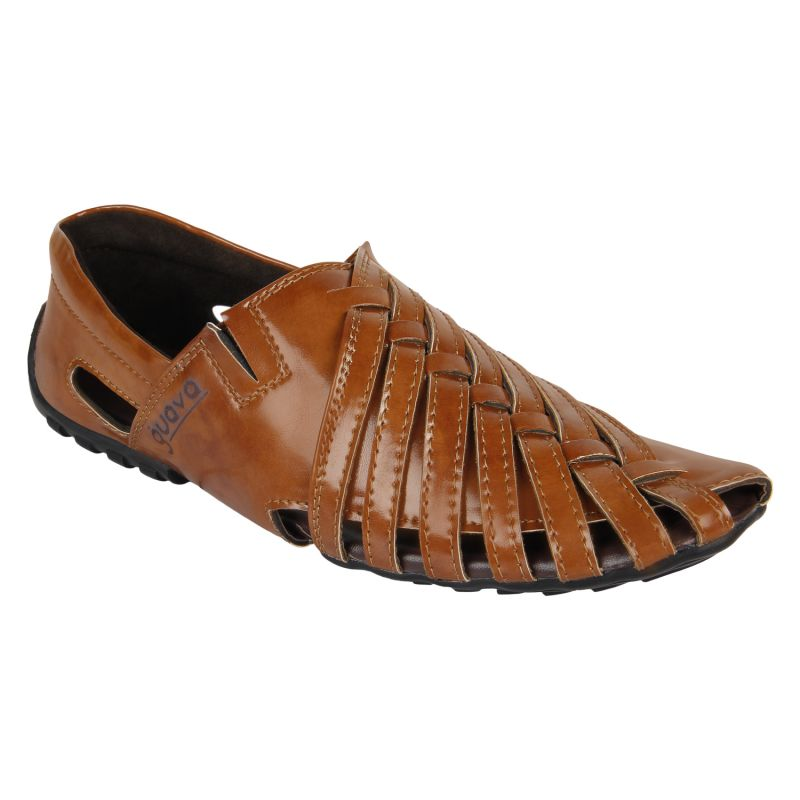 Buy Guava Men's Tan Sandals online