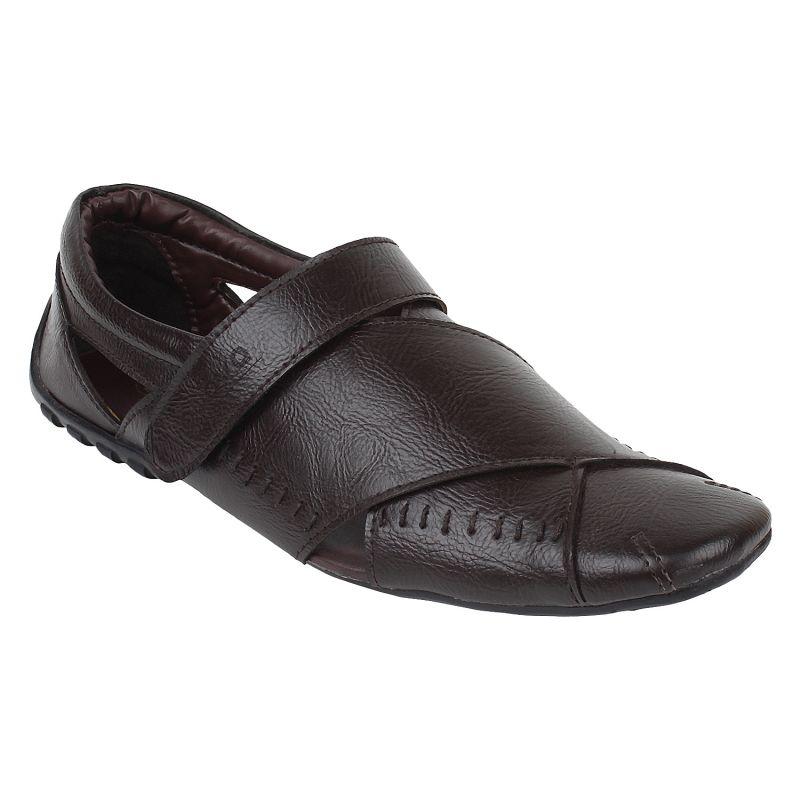 89e179bd7875 Buy Guava Men s Stylish Brown Sandals Online