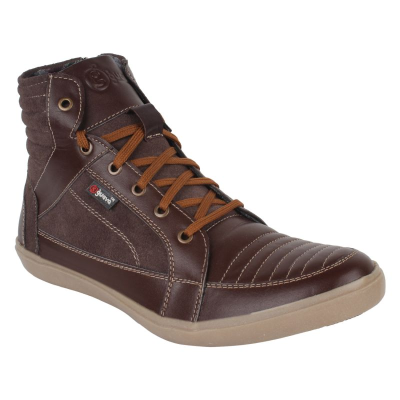 Buy Guava Men's Leather Boots online