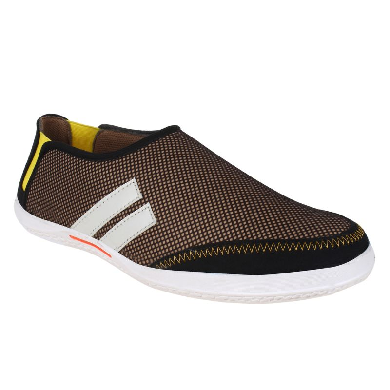 Buy Hirolas Men Neo Slip ons    Brown online