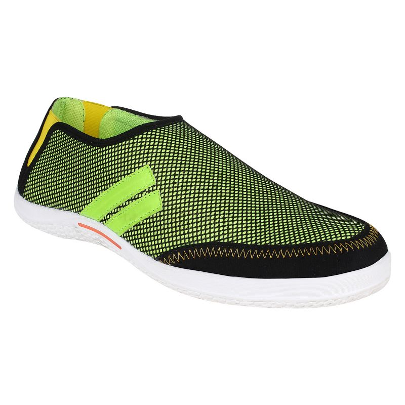 Buy Hirolas Men Neo Slip ons    Green online