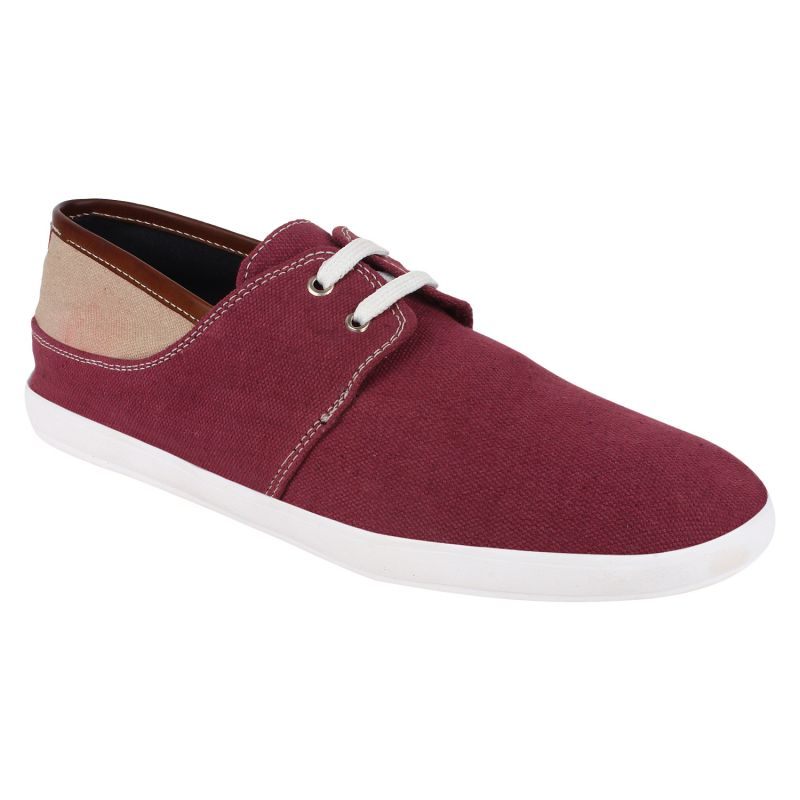 Buy Hirolas Men Claret Casual Shoe online