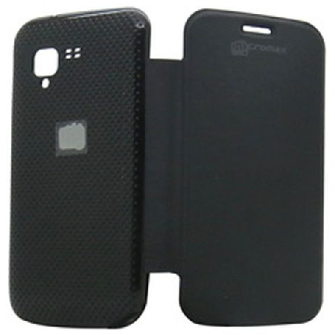 Buy Gci Flip Cover For Micromax A34 (black) online