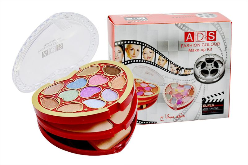 Buy Ads Fashion Colour Make Up Kit With Liner & Rubber Band -ahrh-(code-ads-a8535-mkt-lt28-m-eylnr-fl) online