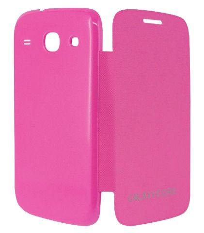 Buy Gci Flip Cover For Samsung Galaxy Core (pink) online