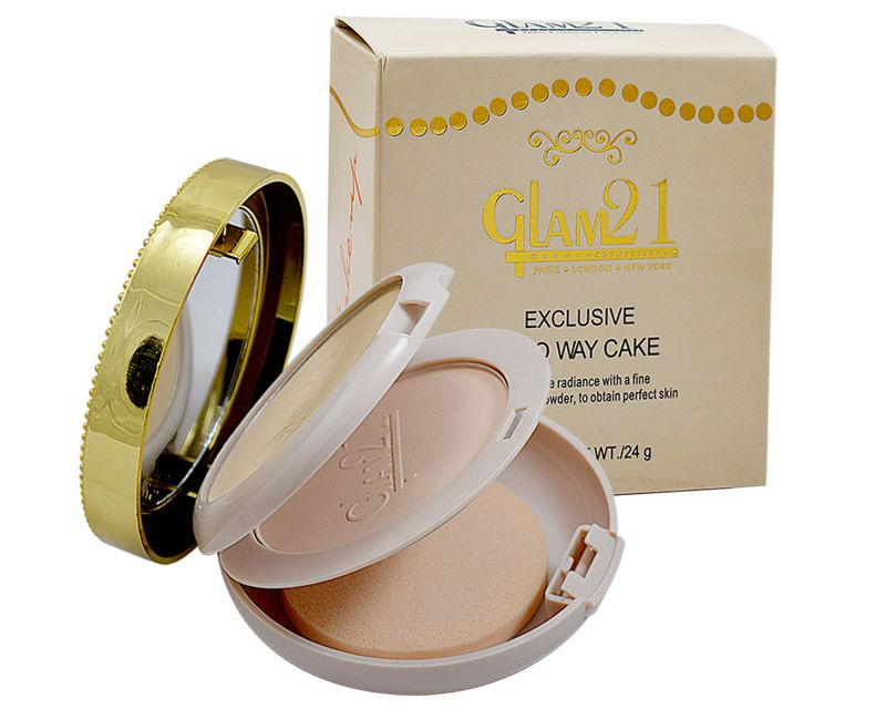 Buy Glam 21 Exclusive Two Way Cake Powder With Liner & Rubber Band online