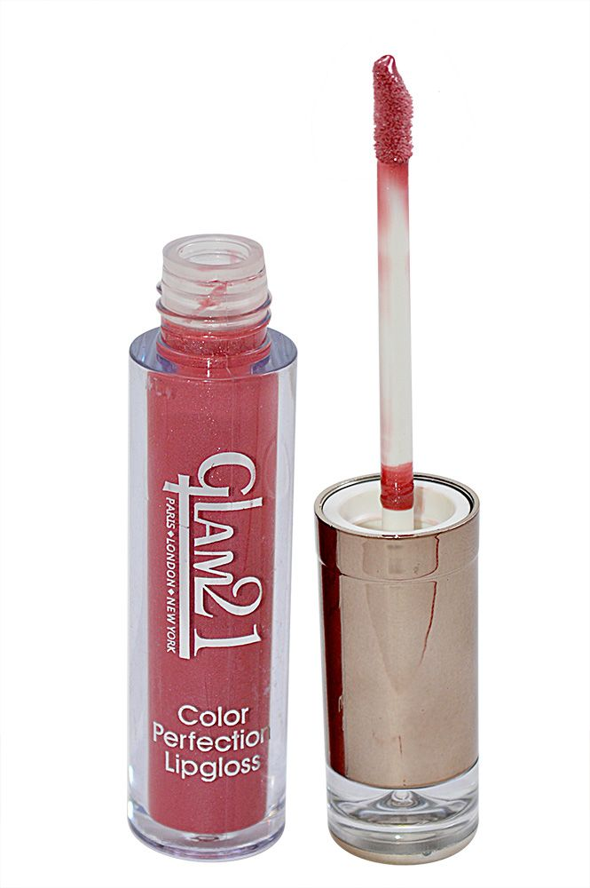 Buy Glam 21 Color Perfection Lip Gloss With Liner & Rubber Band -rhp-c2-(code-gm-e351-c2-lpgl-lt28-m-eylnr-fl) online