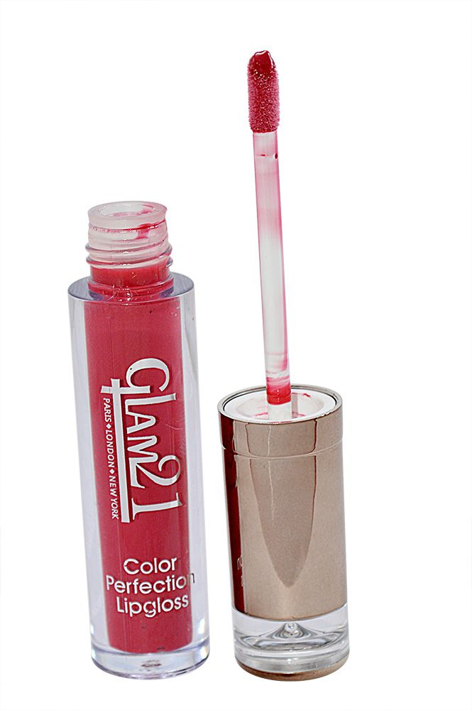 Buy Glam 21 Color Perfection Lip Gloss With Liner & Rubber Band -rhp-c4-(code-gm-e351-c4-lpgl-lt28-m-eylnr-fl) online