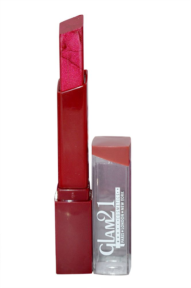 Buy Glam 21 Lipstick With Liner & Rubber Band - Rpaa-s18-(code-gm-s3188-s18-lpsk-lt28-m-eylnr-fl) online