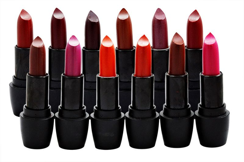 Buy Janie Dark Lipstick With Liner & Rubber Band online