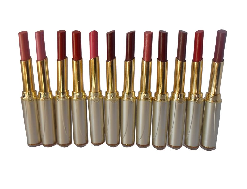 Buy Set Of 12 Tlm Gci Bright Moist Lipstick online