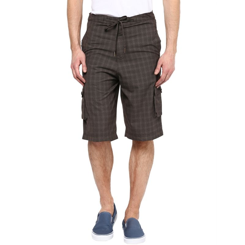 Buy Hypernation Checkered Men's Three Fourths online